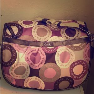 Coach bag/diaper bag